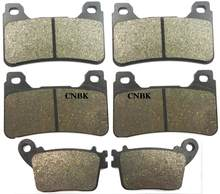 F + R Disc Brake Pads Set Fit Honda 600 CBR $ $ $ $ Hannspree CBR 600RR CBR600RR F5 2008 Depan belakang(China)