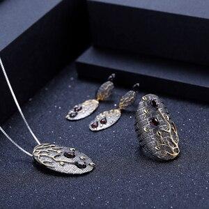 Image 5 - GEMS BALLETT 925 Sterling Silber Original Handmade Blütenblatt Blumen Anhänger Halskette 0.39Ct Natürliche Amethyst Feine Schmuck für Frauen