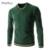 Suéter de Los Hombres 2016 de La Marca de Moda Suéter Hombres Suéter de Cuello En V Suéteres de Patrones Que Hacen Punto Para Hombre Color Puro Caliente Tire Homme Suéter
