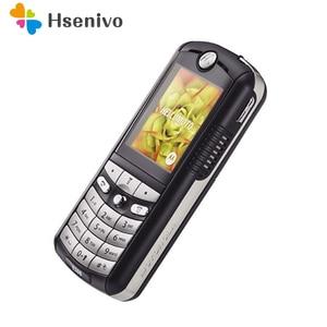 Image 1 - E398 100% جودة جيدة مجددة الأصلي موتورولا E398 الهاتف المحمول ضمان سنة واحدة + هدايا مجانية