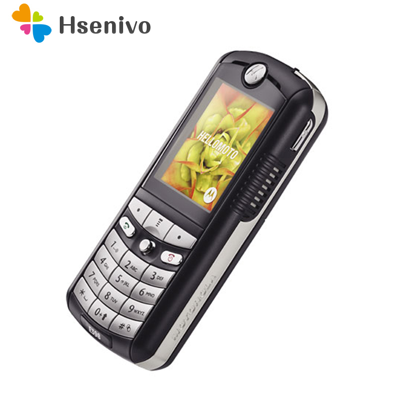 E398 100% GOOD quality Refurbished Original Motorola E398 mobile phone one year warranty +free gifts image