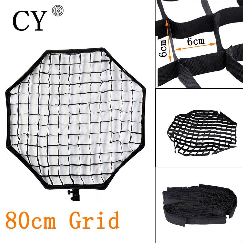 Lightupfoto Photo Video Studio 80cm Nylon Grid For Photo Studio Octagon Softbox Lighting PSCS17A Factory Outlet