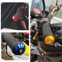 Motorcycle Handlebar Grip End Plug Cap