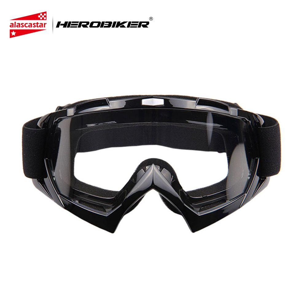 HEROBIKER Ski Snowboard Glasses UV Protection Motorcycle Riding Goggles Motocross Off-Road Dirt Bike Downhill Racing Eyewear все цены