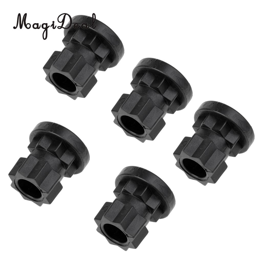 MagiDeal 5 Pieces Ram Mount Track Mounting Base  Track Gear Adapter  Kayak Track Mount for Kayak Boat Angler Fishing Rod