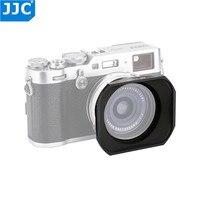 JJC Metal Square Lens Hood Adapter Ring kit with 49mm Filter Thread for Fujifilm X70/X100/X100S/X100T/X100F Cameras