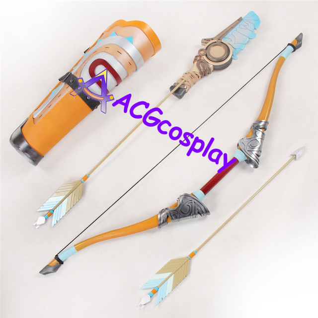 Legend of Zelda Breath of the Wild Link Bow Arrows and Arrow Holder PVC