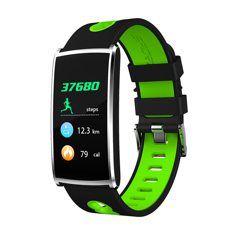 YKSO Smart Wristbands Smart Band Heart Rate Monitor Fitness Bracelet Smart Band Blood Pressure Color Screen with Multi Sport