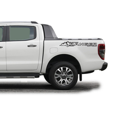 car stickers 2pc rear trunk cool styling protect graphic Vinyl scratch decorative custom for FORD RANGER