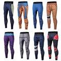 Ropa de la marca 2017 Nuevo Llega Para Hombre Pantalones de Impresión 3D Dragon Ball Z Naruto Polainas Flacas Pantalones Medias de La Manera Pantalones M-3XL