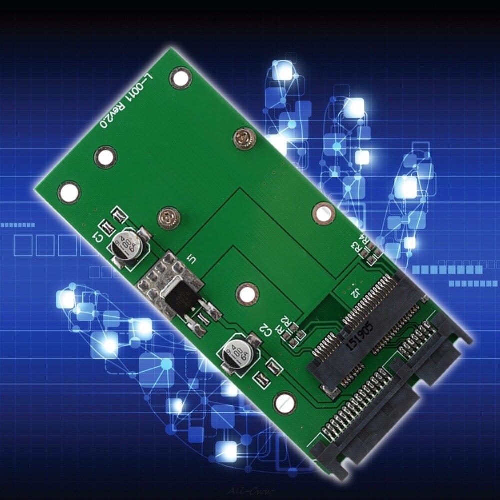 Hot MSATA SSD To 2.5'' SATA 6.0 Gps Adapter Converter Card Module Board Pad Pcie