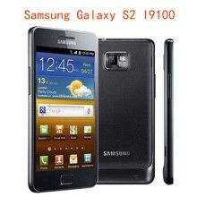 Samsung Galaxy S2 i9100 мобильный телефон 3G Wifi 8MP отремонтированный разблокированный Android телефон