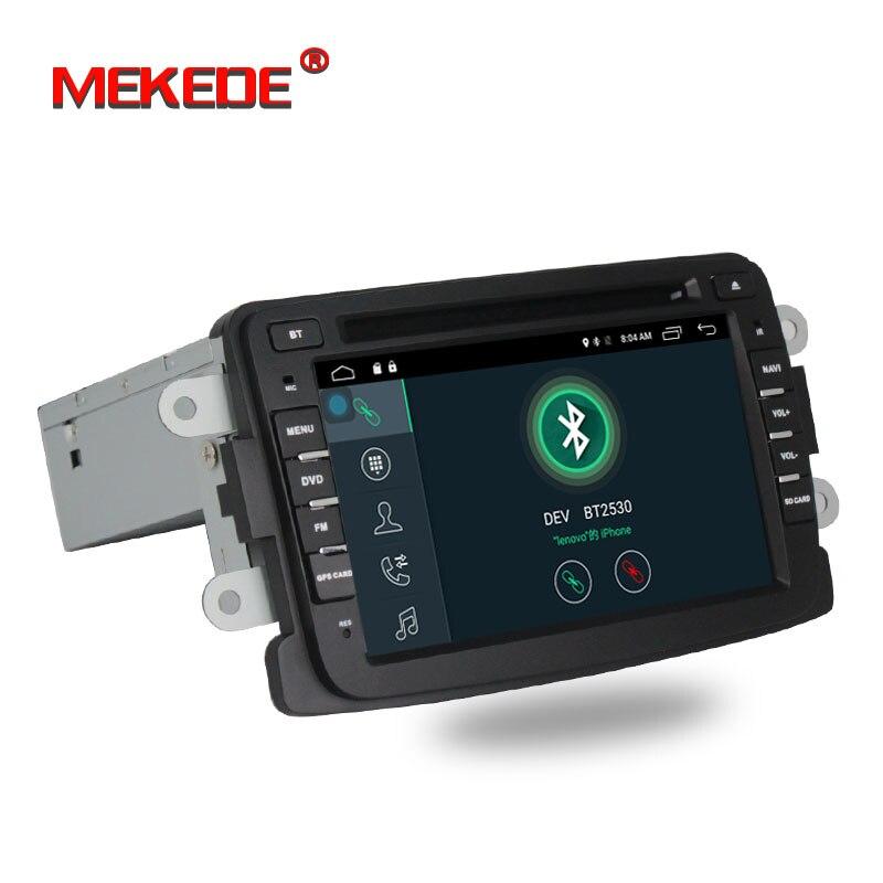 Android 7.1.1 7 Lettore DVD Dell'automobile di pollice Per Dacia/Sandero/Duster/Renault/Captur/Lada/ xray 2 Logan 2 RAM 2g WIFI GPS di Navigazione Radio