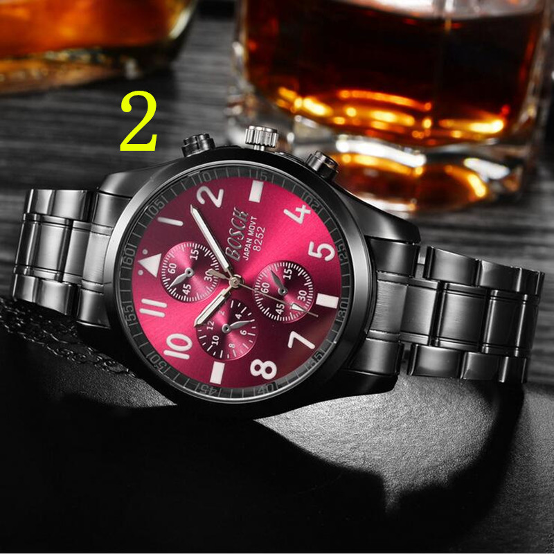 Wang's watch male student Korean version of the simple trend casual men's watch waterproof fashion models men's 2018 new 13# 2018 new men s watch waterproof watch men s student korean version of the simple trend casual quartz fashion watch