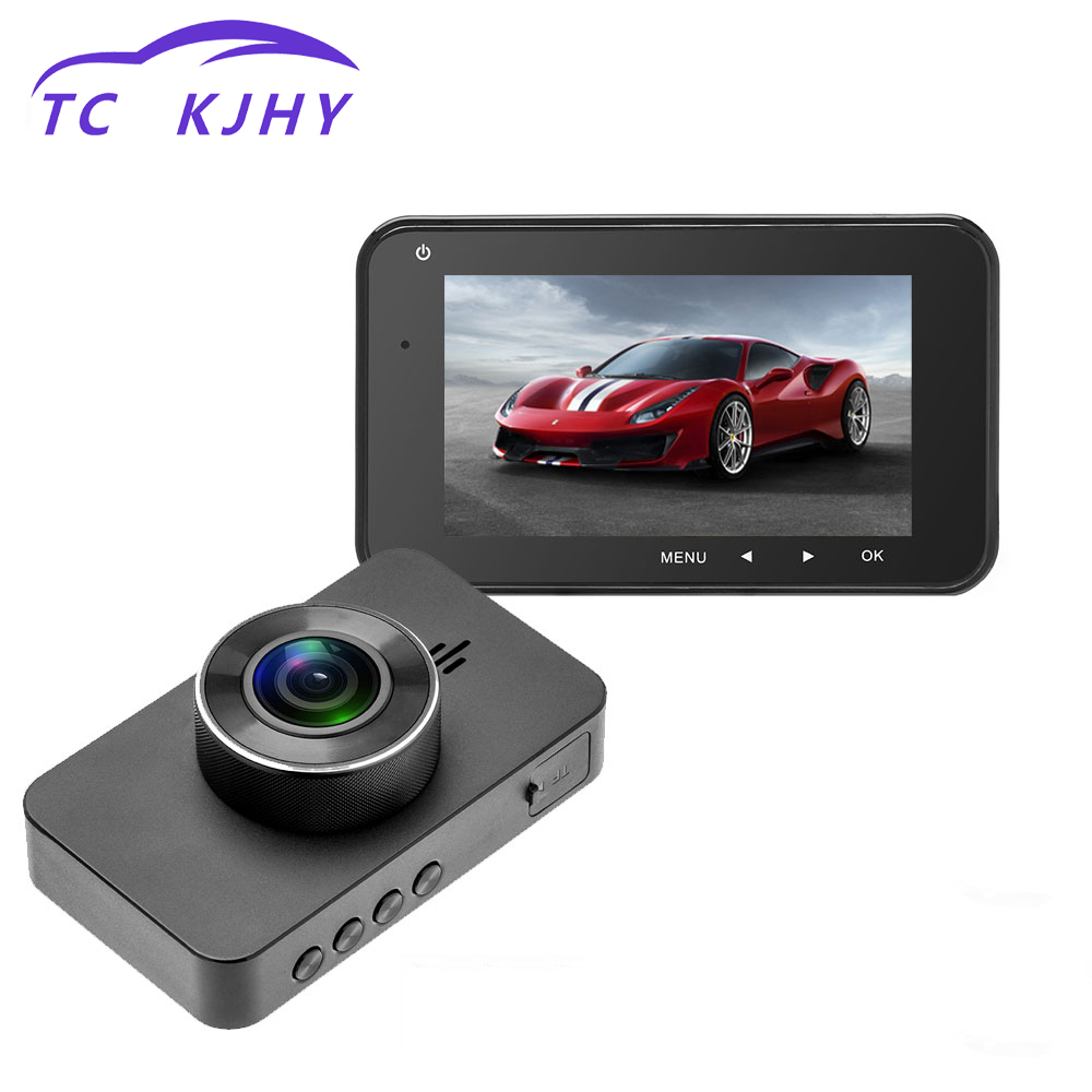 2018 Auto Dash Cam Car DVR Camera Dual Lens 3 GPS Positioning Video Recorder Registrator Car Cam Corder DVRs Reversing Camera