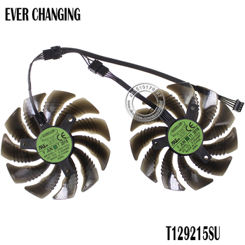 88MM T129215SU PLD09210S12HH Cooling Fan For Gigabyte GeForce GTX 1050 Ti RX 480 470 GTX 1060 G1 Graphics Card Cooler Fans image