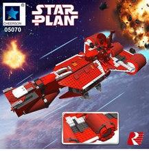 Star Wars Guerra Da Republic Cruiser Spaceship Building Brick Model Toys Boys Gift Compatible Legoes 7665
