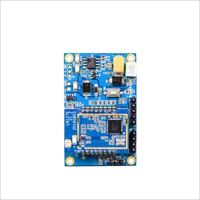 LoRa intelligent development board, 485 gateway, sx1278 radio frequency spread spectrum module, 433MHZ wireless serial port lora performance evaluation board test board