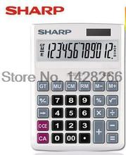 New Original SHARP CH-G12 Genuine Calculator Major Desktop Office Business 12 Digit Large Screen Calculadora Cientifica As Gift