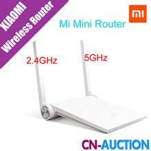 Original Xiaomi Router Mini MI Router Enrutador Inteligente Blanco Negro Dual-band 2.4 GHz/5 GHz Máximo 1167 300mbps Wifi de la Ayuda 802.11 AC