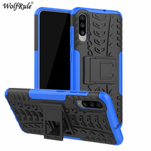 Case For Samsung Galaxy A70 Dual Layer Armor TPU+PC Shockproof Cover Coque Capa