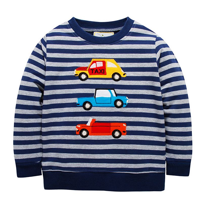 Boys Hoodies Bobo Choses Autumn Winter 2018 Christmas Boys Sweatshirt Long Sleeve Tops Children T Shirts Baby Boy Clothes 2-7Y все цены