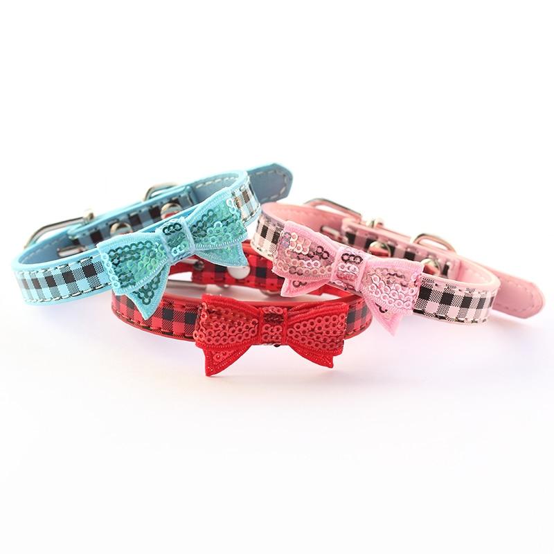 Armi butik Bling Bowknot Hund halsband Princess Leas halsband för - Produkter för djur