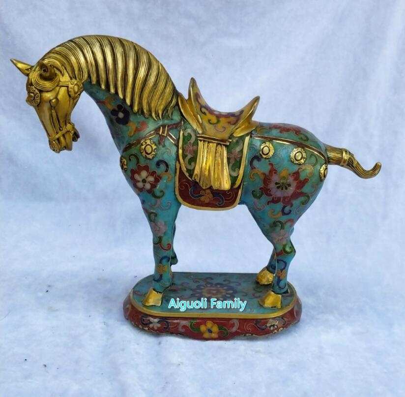 Nice Collectible Decorated Old Bronze Carved Chinese Ancient Animal unicorn Sculpture/big Unicorn Statue The Latest Fashion Home & Garden