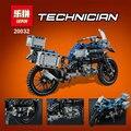 Novo 2017 Lepin 20032 Série Technic O BAMW Off-road Motocicletas R1200 GS Blocos Tijolos Brinquedos Educativos 42063