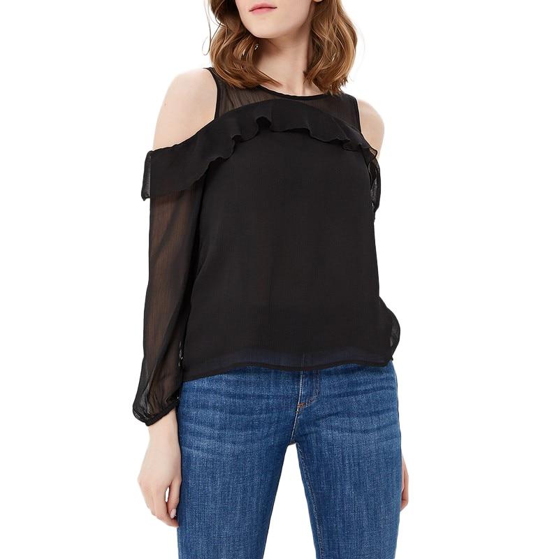купить Blouses & Shirts MODIS M181W00373 woman blouse shirt blusas for female TmallFS по цене 999 рублей