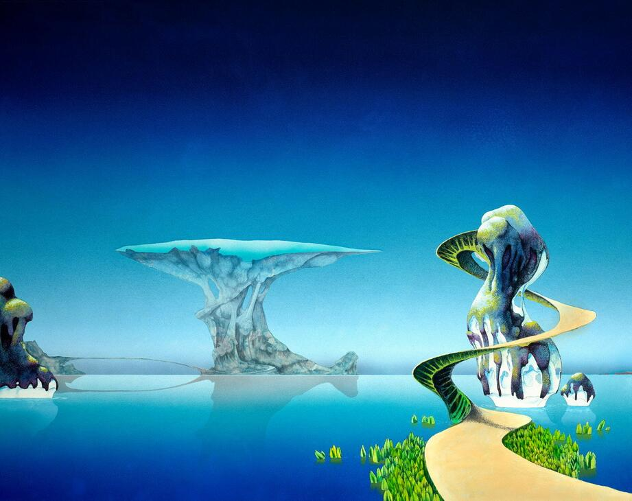 Roger Dean 4 Sizes Wall Picture Canvas Poster Print