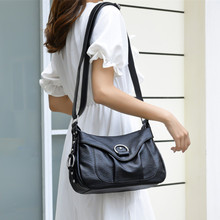 2019 Famous Brand Women Messenger Bags Fashion Leather Female Handbag Ladies Shoulder Bag Mother Crossbody Bags Gift sac a main цены