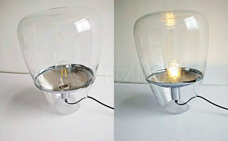 Iluminação Nordic Balão candeeiros de mesa de
