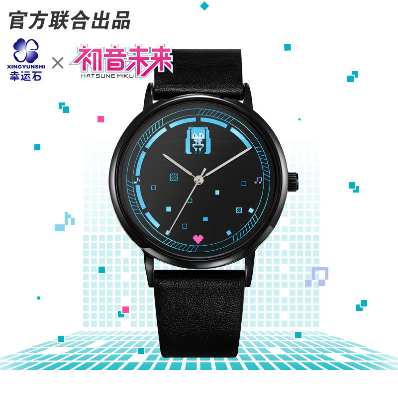 Anitoy Anime Cosplay Hatsune Miku Figure Model Female Watches Toy Collection Role Kagamine RIN&LEN Vocaloid