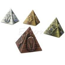 Pyramid Home Decoration Egyptian Pharaoh Avatar Camel Metal Rhinestone Ornaments New