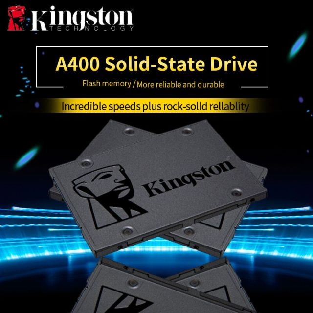 SSD Kingston Digital A400 3 2.5 polegada 120 GB 240 GB 480 GB SATA Drive de Estado Sólido Interno DISCO Rígido HDD HD disco SSD de 240 gb Notebook PC