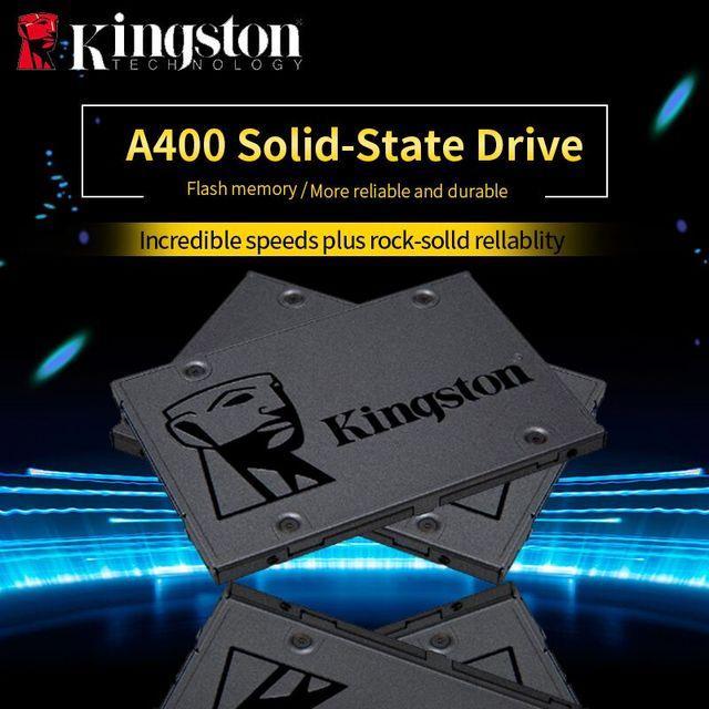 SSD Kingston Digital A400 3 2.5 polegada 120 gb 240 gb 480 gb SATA Drive de Estado Sólido Interno DISCO Rígido HDD HD disco SSD de 240 gb Notebook PC