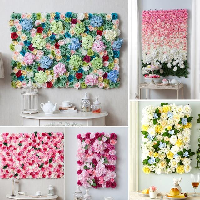Aliexpress Buy Custom Wedding Theme Artificial Silk
