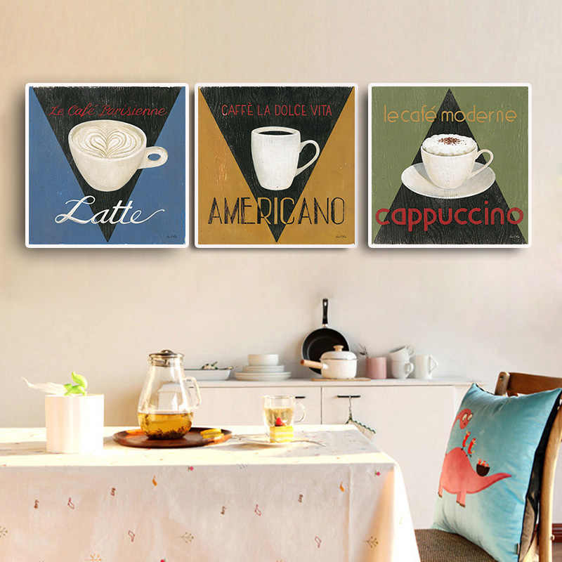 Classic Coffee Vintage Poster Prints High Quality Duvar Tablolar