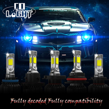 Car LED Headlight 72W 8000LM 6500K 12V 24V H4/HB2/9003 H7 H13/9008 H11/H8/H9 9006/HB4 Car-Styling LED Headlights Bulb Fog Light