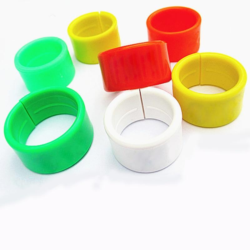 번호 직경없이 1.6cm 플라스틱 치킨 반지 버클 닭 오리 거위 디지털 발 고리 가금 농장 치킨 반지를 장비