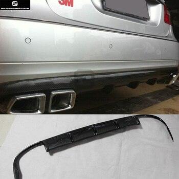 W212 E300 סיבי פחמן אחורי פגוש מפזר שפתיים עבור מרצדס בנץ W212 E350 סטנדרטי פגוש 10-13