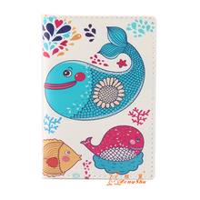 multiple family cheap luxury passport cover wallet cute pu leather customized travel passport holder case