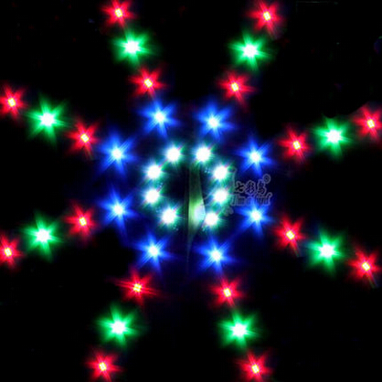 New High quality Outdoor Fun Sports LED Power Kite With Lights Good Flying Factory Outlet