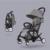 Cochecito de bebé 3 en 1 luz portátil plegable paraguas cochecito de bebé puede tomar una cesta mentira puede estar en el avión bebek arabasi