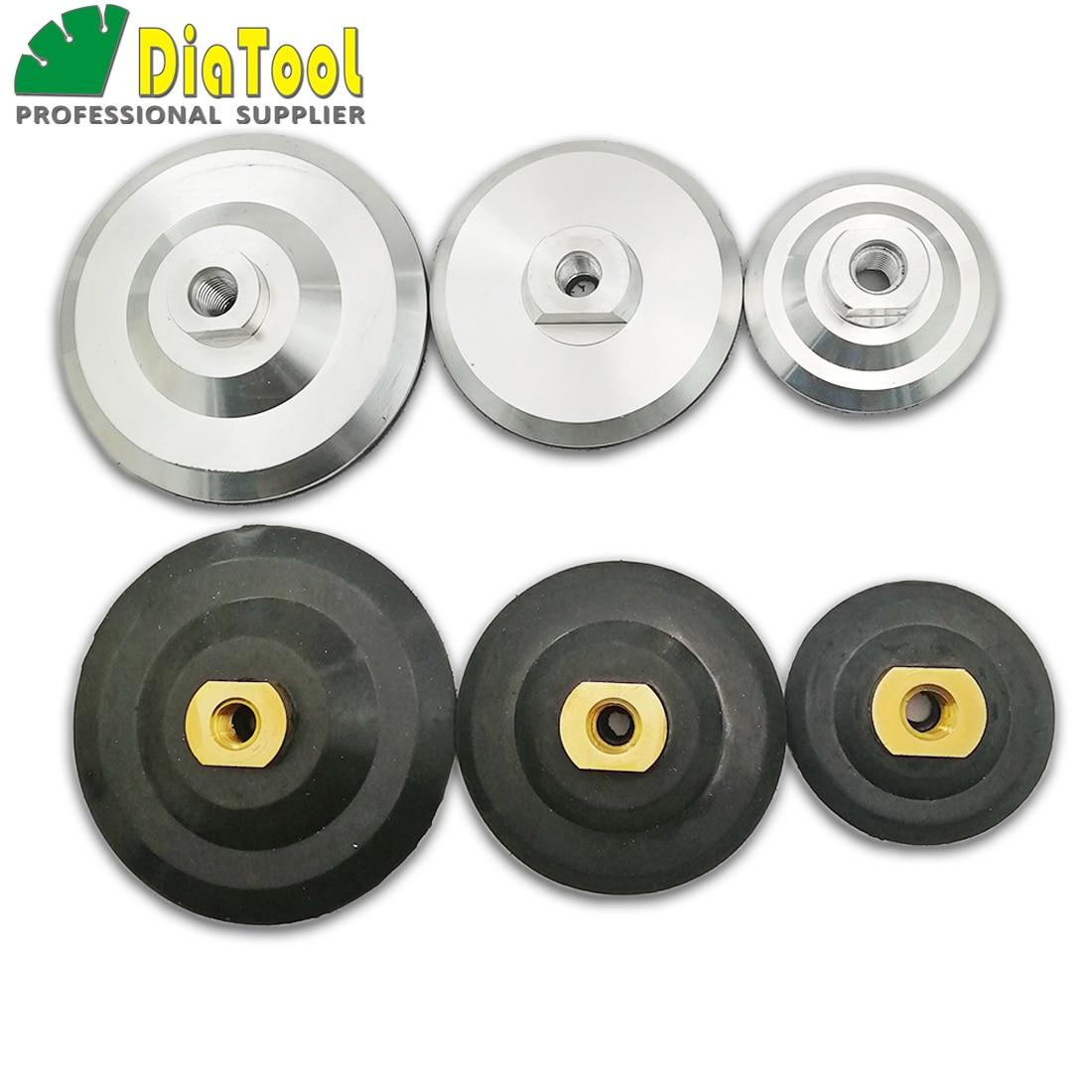 DIATOOL Back Pad For Diamond Polishing Pads M14 Thread Diameter 3