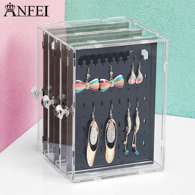 Earrings Display Acrylics Jewelry Box For Earring Jewelry Display