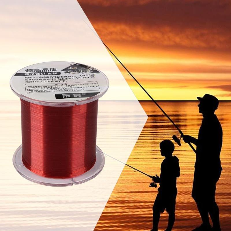 Cord Angling FluoroCarbon Fishing Line Elastic Thread Spool Polyester Bait