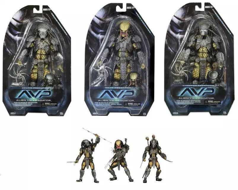 NECA AVP Alien vs. Predator PVC Action Figure Collectible Model Toy 7 18cm free delivery of genuine neca predator alien p1 ganso soldier elder predator model