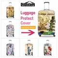 Hot trendy Eiffel tower printed trolley luggage cover waterproof travel suitcase cover protective cover for 18 to 30 inch case